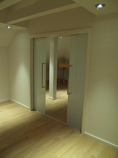 glasschiebet r mit einbau lilashouse. Black Bedroom Furniture Sets. Home Design Ideas